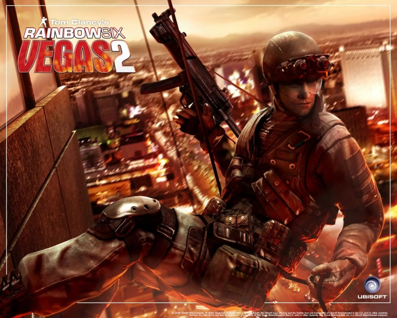 Tom Clancy's Rainbow Six Vegas 2 - Main Theme OST