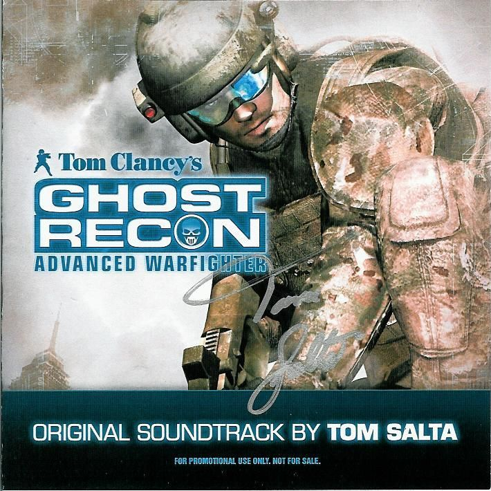 Tom Salta - Tom Clancy's Ghost Recon Advanced Warfighter - The Ghost's Theme