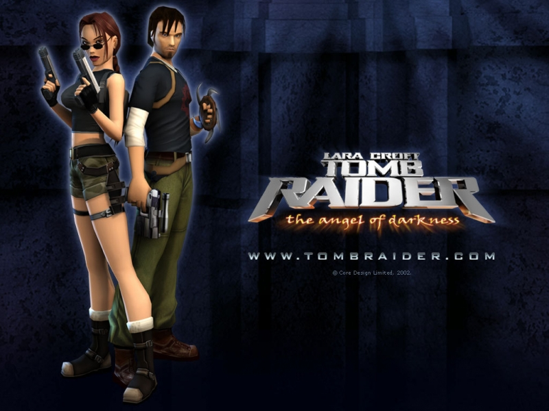 Tomb Raider 6 Angel of darkness - Title.