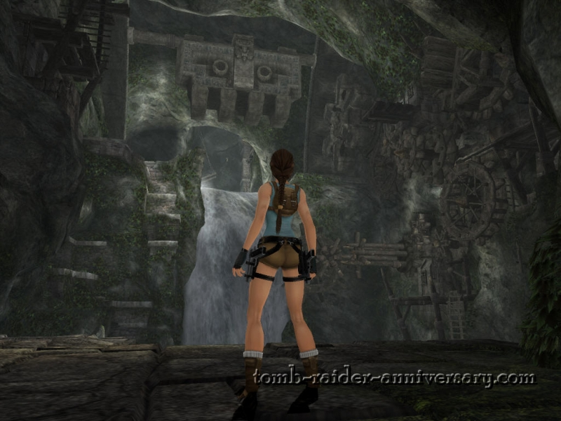Tomb Raider Anniversary - Peru - Waterfall Room