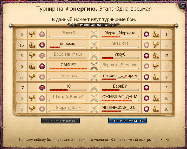 Lind Erebros \ Shadow Fight 2 - Турнир Небеса