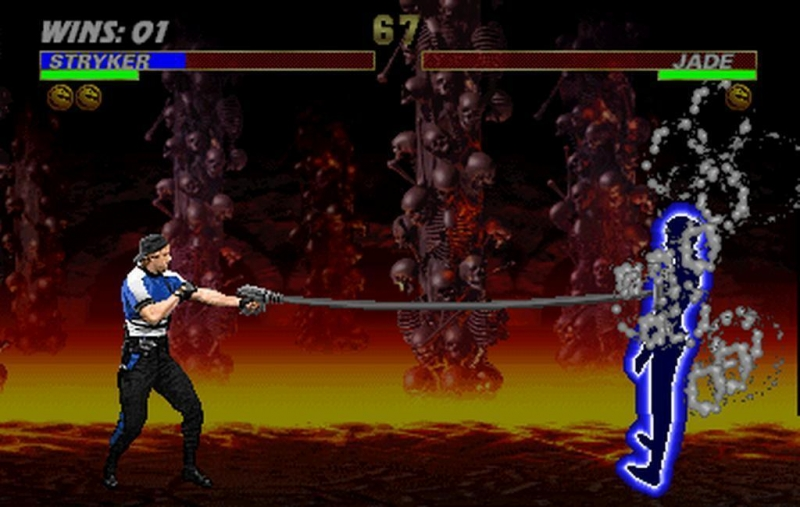 Ultimate Mortal Kombat 3 - Game menu