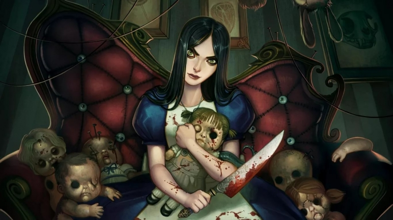 Voice ask|Alice Madness Returns - |Кукольник, Алиса Лиделл и Чишир. Перл 2
