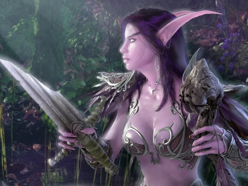 World of Warcraft - The Night Elves Cata