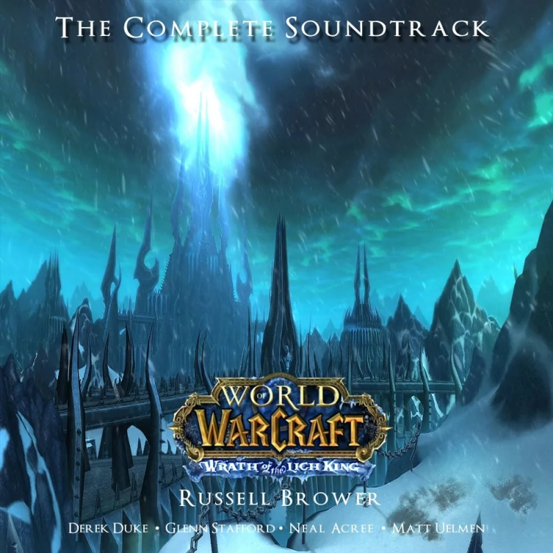 (World Of Warcraft  Wrath Of The Lich King OST) Blizzard Entertainment - Arthas, My Son