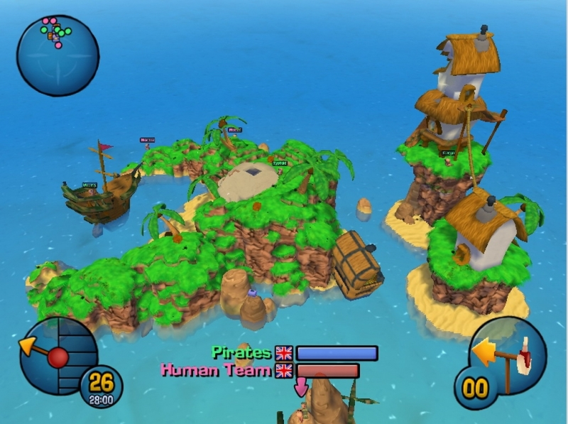 Worms 3D - Pirate 4