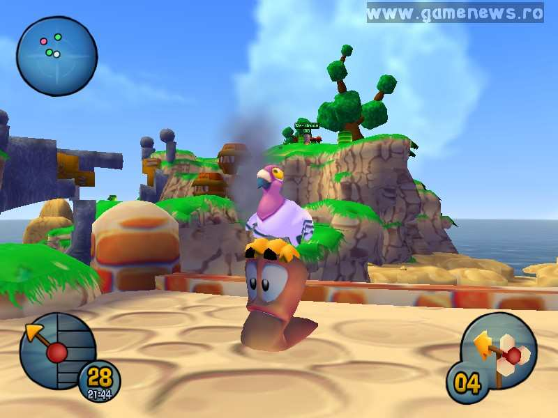 Worms 3D - Pirate Theme 1