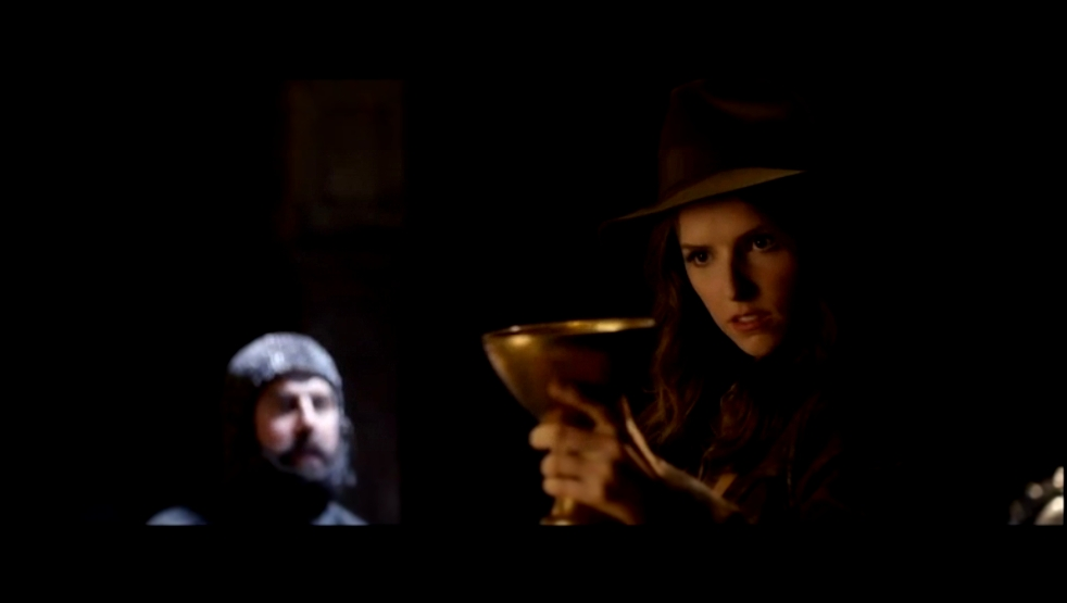 Anna Kendrick as the new Indiana Jones