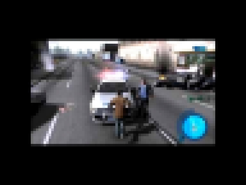 Driver parallel lines police car glitch (Best)