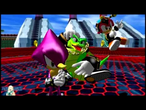 Sonic Heroes Team Dark Boss Fight 60FPS