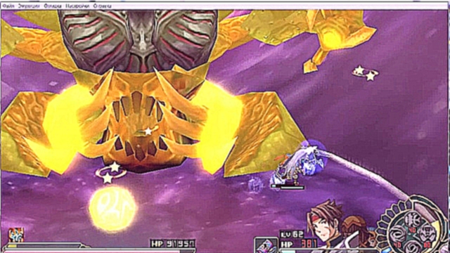 YS Seven - final boss and ending (ppsspp)
