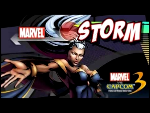 Marvel vs. Capcom 3: Theme of Storm