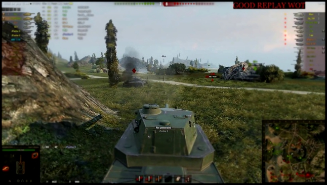 Type 5 Heavy    9100 урона   4 фрагов    World Of Tanks WoT