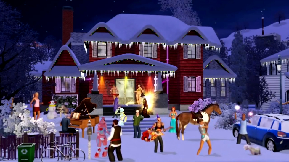 The Sims 3  - The 12 Days of Simsmas