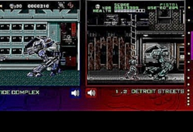 RoboCop Vs Terminator | SNES & Mega Drive | Comparison/ Double Playthrough