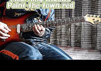 Nuno Bettencourt - Paint the town red - solo cover