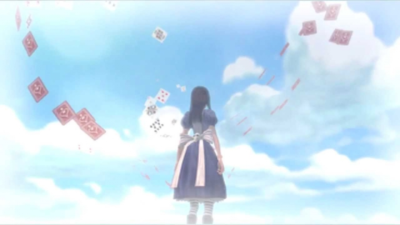 Alice Madness Returns - Card Castles In The Sky by MerryBerry