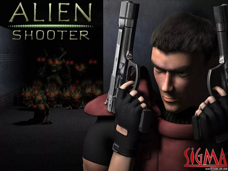Alien Shooter - Alien Shooter Menu