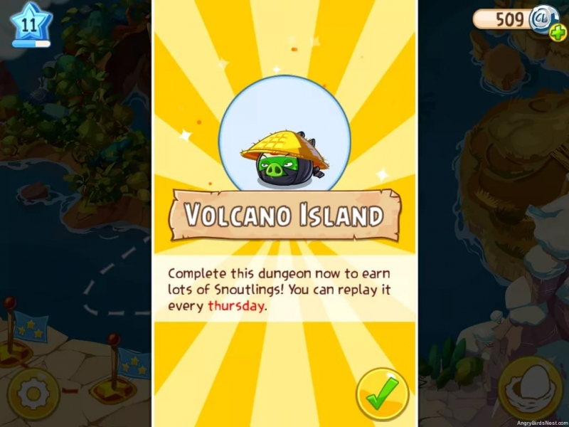 Angry Birds Epic The Porkades Islands - Эльфийский лес