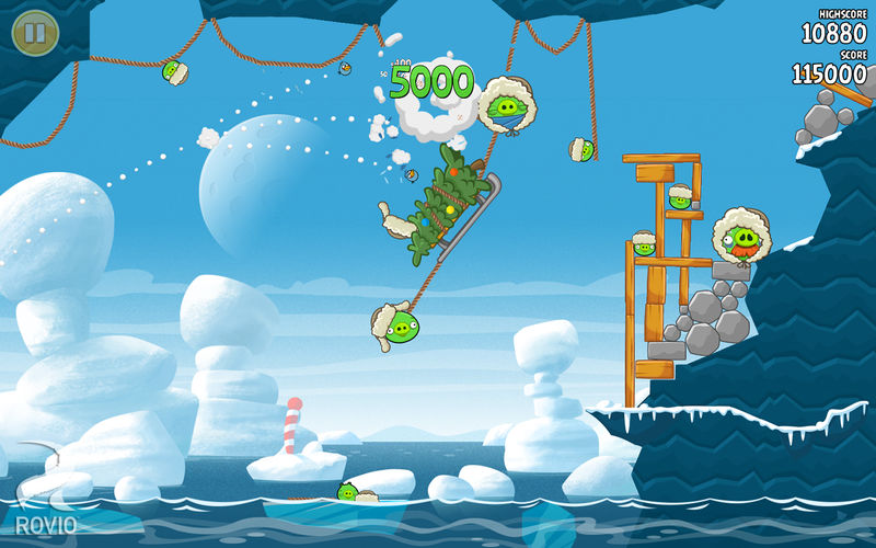 Angry Birds Seasons - St. Patrick's Day Theme