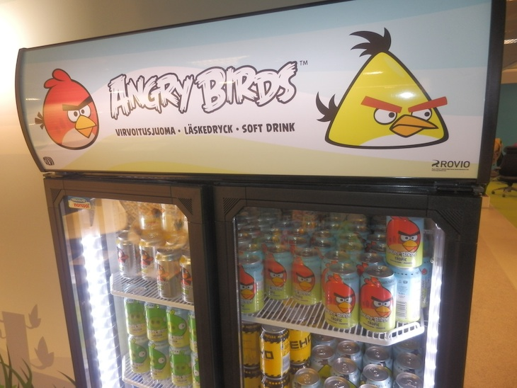 Angry Birds - style metal