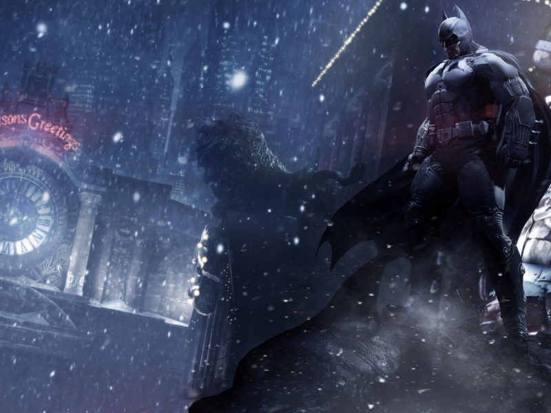 Baan Arkham Origins - Winter Comes to Gotham