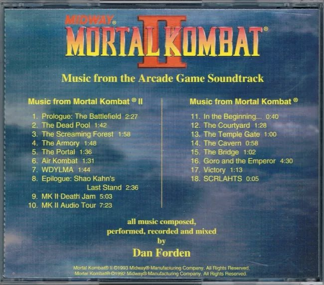 Dan Forden - Mortal Kombat 1-2 ost - 14 - The Cavern 13-16k