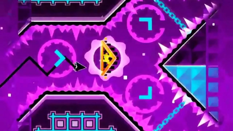 DJVI/Geometry Dash - Blast Processing 10 уровень 17 песня