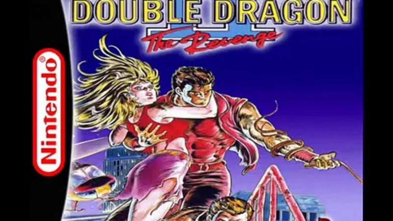 Double Dragon II The Revenge - Mission 2 - At the Heliport