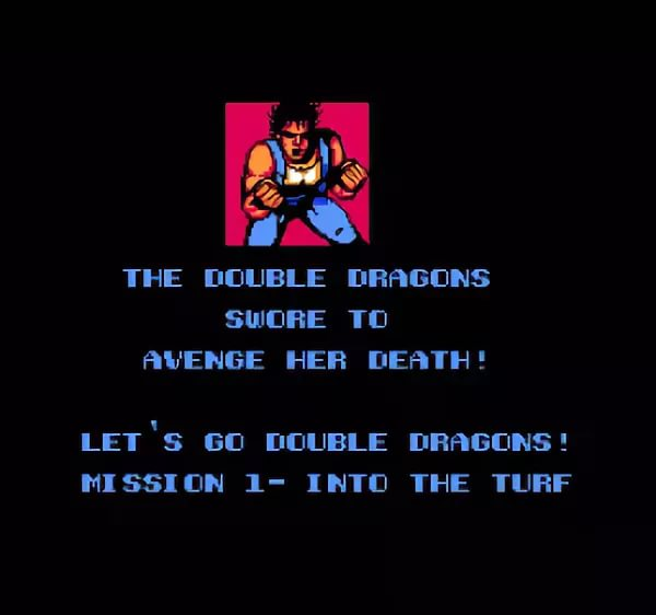 Double Dragon II The Revenge - The Ending