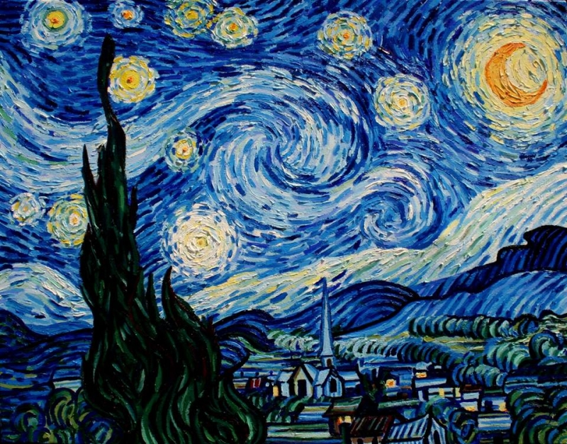 art criticism vincent van gogh s starry night