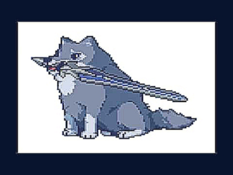 Dark Souls - Great Grey Wolf Sif Theme 8-bit version