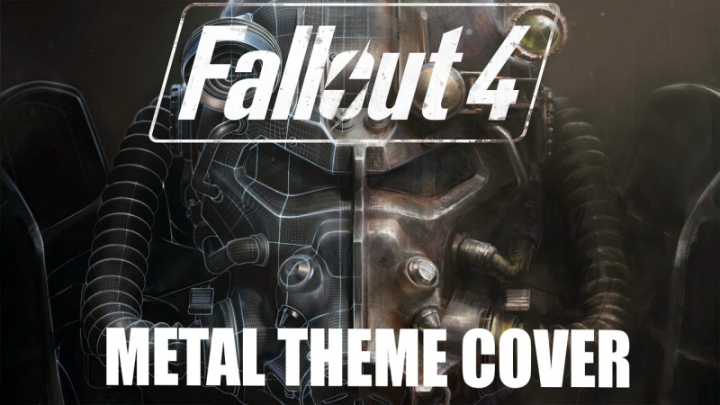Fallout 4 - Main Theme Metal cover