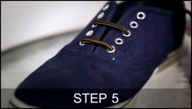 How To No1 - Tying Hidden Shoe Laces - Men's Style