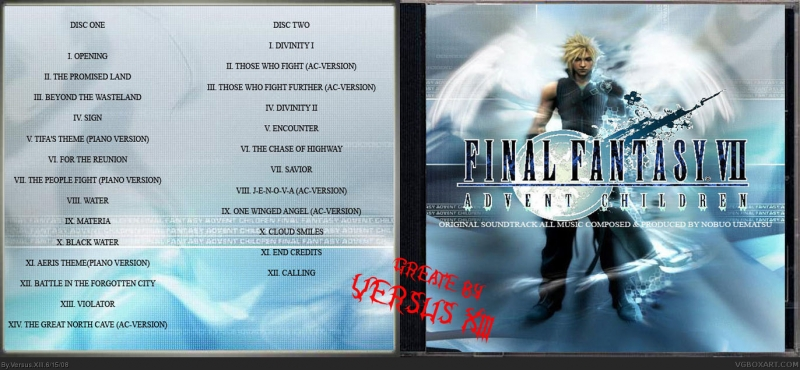 FINAL FANTASY VII ADVENT CHILDREN ORIGINAL SOUNDTRACK Disc2 - Savior