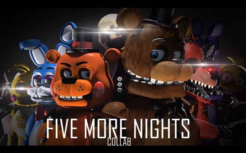 "Five Nights At Freddy's 2 Rap by JT Machinima - - ""Five More Nights"""