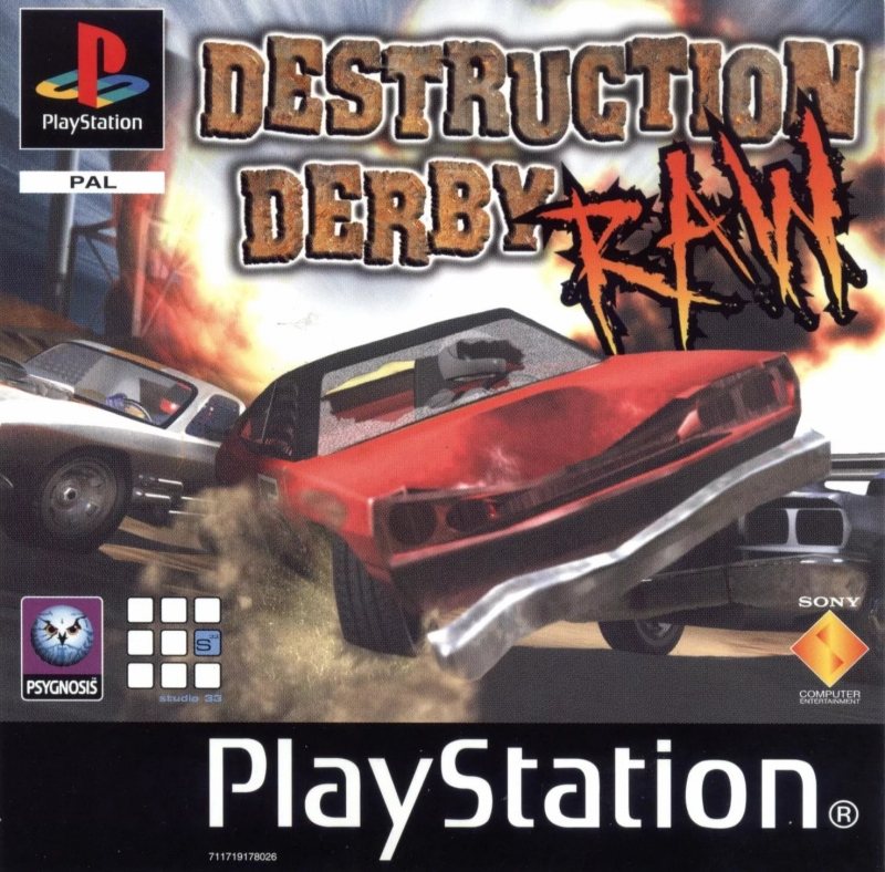 Gary McKill, Mike Clarke, Dan Selby - Destruction Derby RAW