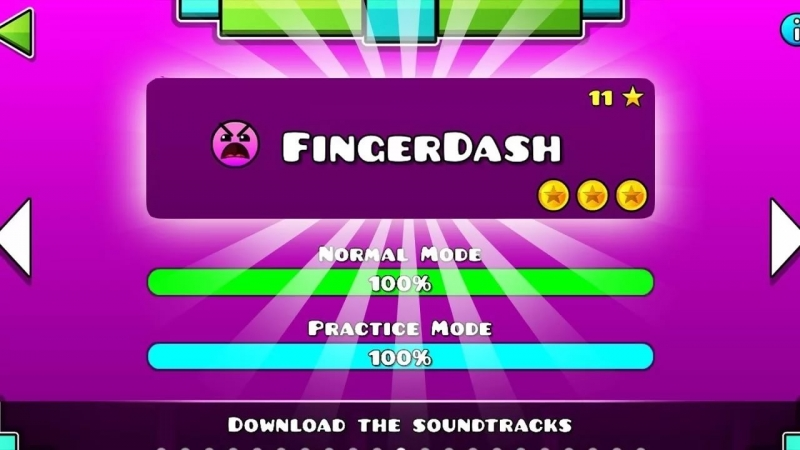 Geometry Dash - Fingerdash