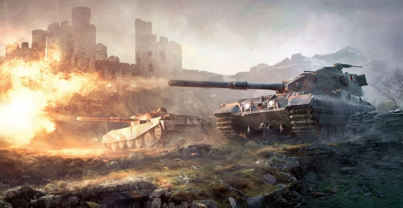 GrandX - FV215b 183 World of Tanks