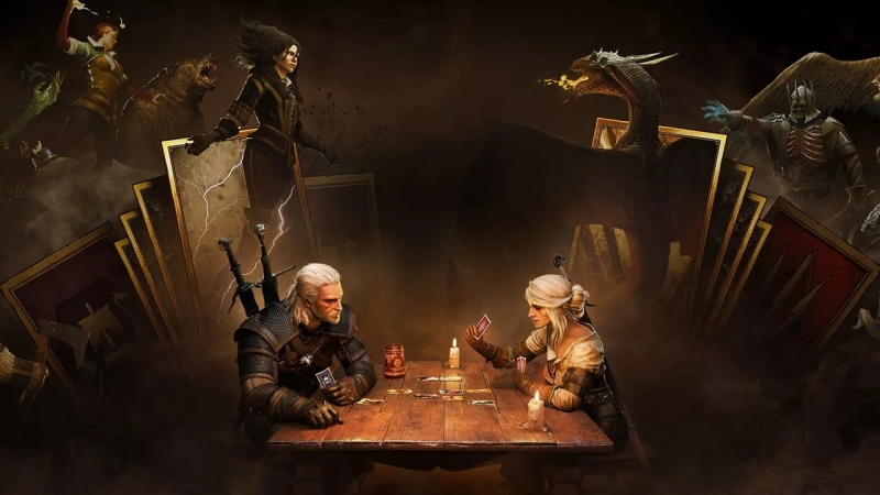 Gwent The Witcher Card Game SoundTrack - 435921041