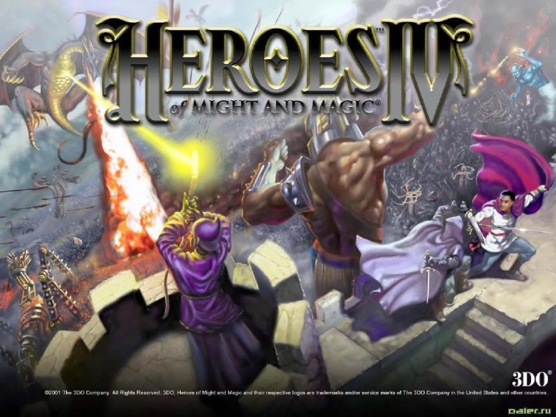 Heroes of Might and Magic 4 - Elemental Metropolis order