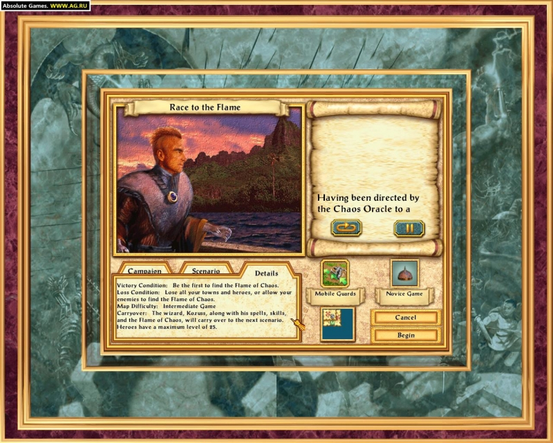 HOMM 4 - The Gathering Storm Heroes of Might and Magic 4
