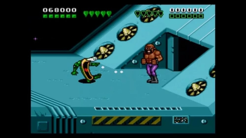 Игра Dendy - BattleToads and Double Dragon
