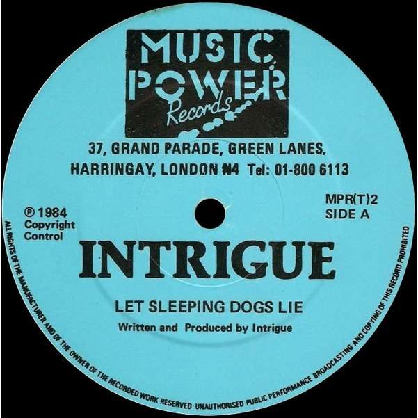 Intrigue - Let Sleeping Dogs Lie