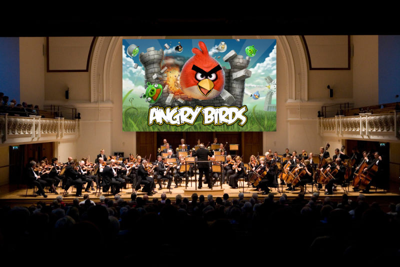 London Philharmonic Orchestra - Angry Birds Main Theme