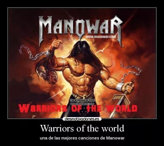 Manowar - Warriors Of The World United speed x4