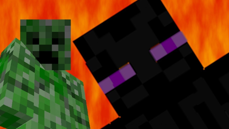 Epic Rap Battle Creeper VS EnderMan