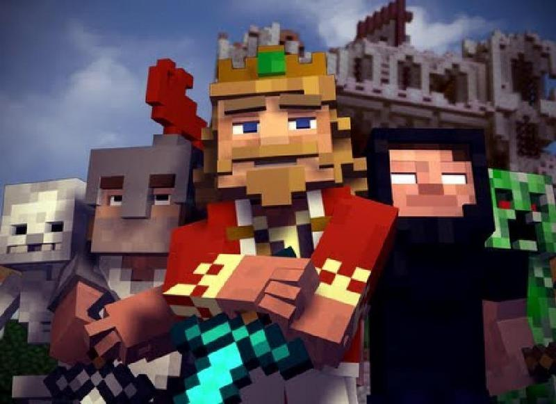 'Fallen Kingdom' - A Minecraft Parody of Coldplay's Viva la Vida Music Video