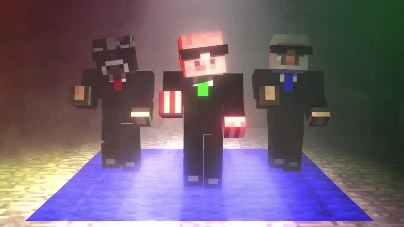 Minecraft Mob Dance Party