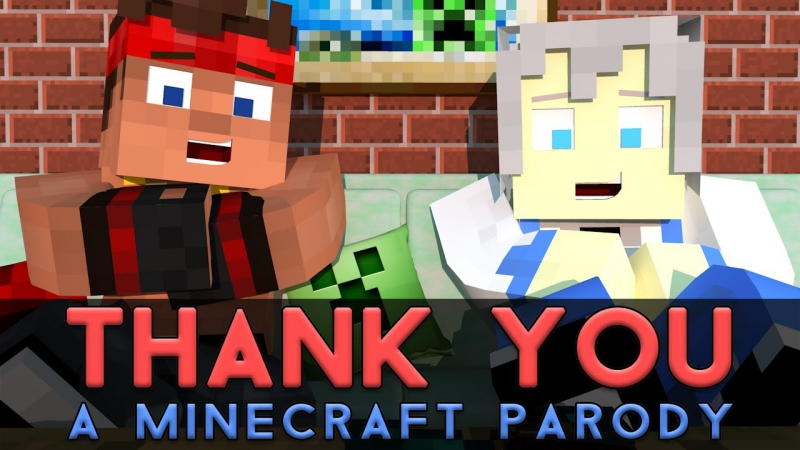 Thank You - Minecraft Parody by MR MEOLA